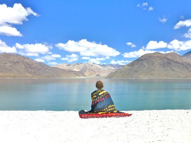 Quiet-moment-at-Pangong-Tso-Lake