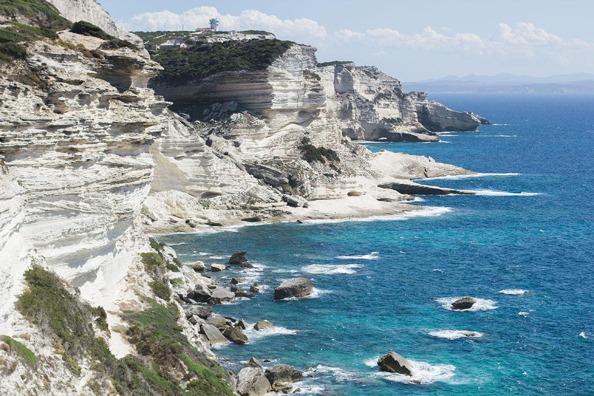 Corsica - Bonifacio cliff